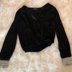 Fashion Nova Crop Blouse